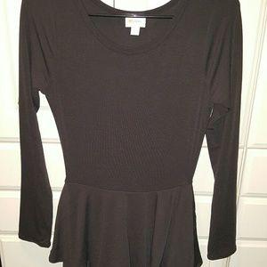 Lularoe Black Georgia Dress NWT